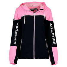Veste Superdry Colour Block Cagoule Cotton Candy Pink / Dark Navy
