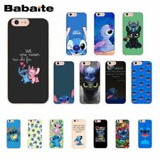 Babaite cute cartoon Lilo Stitch TPU Phone Case Cover Shell for iPhone 8 7 6 6S
