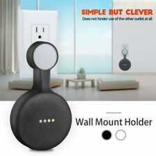 Outlet Wall Mount Stand Hanger Holder For Google Home Mini Voice Assistant Smart