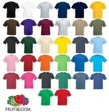 Fruit Of The Loom T Shirt Short Sleeve T Shirts 100% Cotton! Plain Men/Women Lot