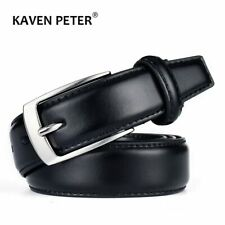 Classic Leather Belt For Men Luxury Business Male Cowhide Leather Belts 3.0 CM