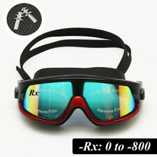 Rx Prescription Swimming Glasses Myopia Optical Swim Goggles