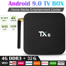 TX6 Smart TV BOX Android 9.0 XR819 2+16GB 4+32GB 4K Quad Core Wifi Media Player