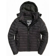 Veste Superdry Tweed Mix Chevron Fuji Black