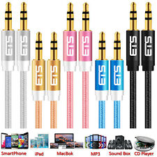 3.5mm Male to Male Car Aux Auxiliary Cord Stereo Audio Cable For Phone MP3