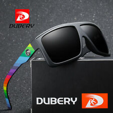 DUBERY Mens Polarized Sunglasses Driving Shades Eyewear Outdoor Fashion Square