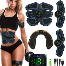 EMS Muscle Stimulator Six Pack Pad ABS Arm Gym Pro Training Fat Burning Slimming