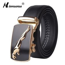 New Designer Automatic Buckle Cowhide Leather men belt Fashion Luxury belts for