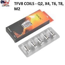 Authentic SMOK² TFV8 Baby / Big Baby Beast Coils T8 / T6 / Q2 / X4 lot.