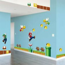 Vinyl Removable Wall Sticker Decal Home Decors Giant Big Super Mario Bros Kids