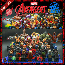 Marvel DC Comics Super Heroes 490 Building Block LEGO fits Minifigures Avengers