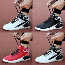 Men's Sneakers HOT Sports Shoes Running High Top Casual Athletic Breathable