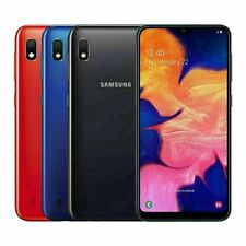 Samsung Galaxy Android A10 2019 32GB Dual SIM 4G LTE Phone Blue Black Red