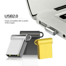 Mini USB 2.0 2TB/1TB/512GB Flash Drive Memory Pen Stick PC Metal Storage U Disk