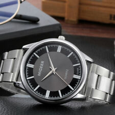 Stainless Steel New-hot Man's Dial Cool Fashion Casual Business Wrist Watch