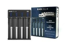 BLACKCELL BU4 UNIVERSAL QUAD BAY BATTERY CHARGER for 18650 26650 20700 21700