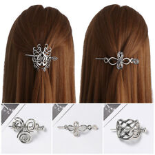 Product  Women Hair Clips Barrettes  Jewelry Vintage  Knots Crown Hairpins