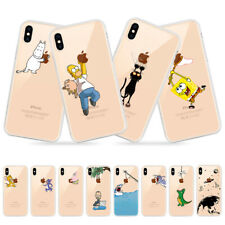 Transparent Soft TPU Phone Case For iPhone Xs Max Xs Xr 8 7 6 6S Plus 5 5S SE