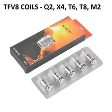 Authentic SMOK² TFV8 Baby / Big Baby Beast Coils T8 / T6 / Q2 / X4 1 lot.
