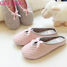 Women Home Slippers For Winter Indoor Bedroom House Soft Bottom Warm Shoes Adult