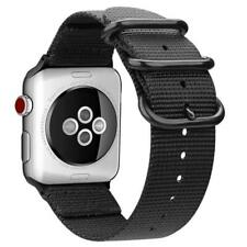 FINTIE Strap for Apple Watch 44mm 42mm, Lightweight Breathable Woven Nylon Sport