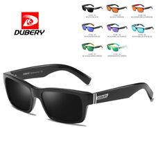 DUBERY Mens Womens Vintage Polarized Sunglasses Driving Eyewear Shades Classical