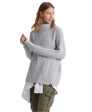 Superdry Tori Cable Cape Knit Jumper Strickpullover