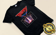 TRIUMPH Stages Rock Band Rare Logo Black Gildan T-shirt All Size NEW