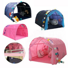 Childrens Bed Tent Game House Foldable Kid Dream Pop Up Crib Canopy Mosquito Net