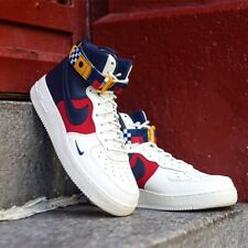 NIKE AIR FORCE 1 HIGH '07 LV8 SAIL MIDNIGHT NAVY AR5395100 MEN'S SSHOES