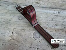 Classic Bond Nato G10 Premium Black Green Red Military Watch Strap 18 20 22 24mm