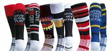 WackySox 6 Pairs for 4 Saver Pack Rugby Socks, Hockey Socks - Rugby Head