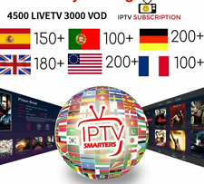 IPTV subscription Caribbean Hindi Canada USA Europe French Latino Spain Portugal