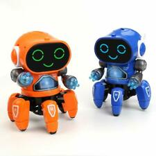 Dancing Walking Robot Smart Music Light Electric Kids Learning Toy Gift Toddler