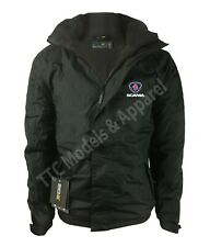 Scania Regatta Fleece Lined Waterproof Jacket with Embroidered Logo