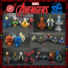 Marvel DC Comics Super Heroes LEGO fits Minifigures Avengers End Game NEW Models