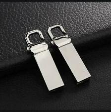 Metal Key ring USB 2.0 32GB 16GB Flash Drives Memory Stick Media Storage U Disk