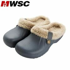 MWSC Woman House Slippers PU Leather Warm Fur Slippers Home Slipper Indoor Floor