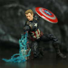 "Custom KO's Marvel Legends Avengers 4 Endgame Captain America 6"" Action Figure"