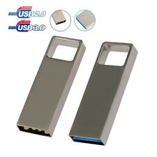 Metal 1TB 2TB Flash Drives USB Memory Stick Pen Storage Key Ring Thumb U Disk