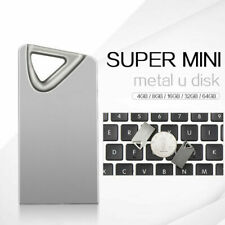 2TB1TB Metal Mini USB 2.0 Flash Dirves Media Memory Thumb Pen Drive Data U Disk