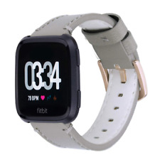 iBazal Bands Compatible with Fitbit Versa Strap/2/Lite Edition Wrist Straps Leat