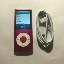 Apple iPod Nano 4th Generation Pink (8 GB) Bundle Tested Working
