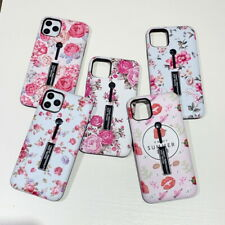 Pink Flower Kickstand Hybrid Case Cover For iPhone 11 Pro Max XS XR X 8 7 Plus 6
