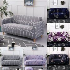 1 2 3 4 Seater Floral Stretch Chair Sofa Covers Couch Cover Slipcover Protector