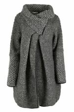 Italian Womens Ladies Wool Mix Cocoon Cardigan/Coat Lagenlook High Fashion Offer