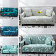 HOT 1-4 Seater Fabric Chair Sofa Settee Covers Stretch Elastic Couch Slipcovers