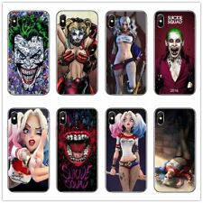Suicide squad Joker harley quinn Margot Robbie cell Soft Phone Cover Cases