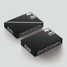 EXO-[Obsession] 6th Album CD+Poster/On+PhotoBook+Lyrics+Slide+Card+Gift+Tracking