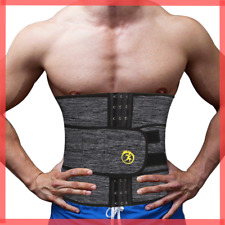 Abdomen Shaper Belt Sweating Weight Loss ADJUSTABLE Slimming Waist Trainer Men